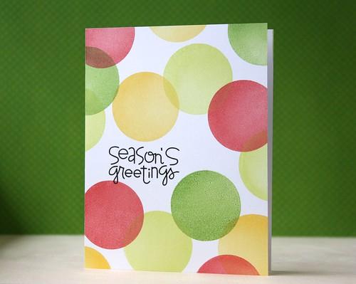season's greetings by L. Bassen