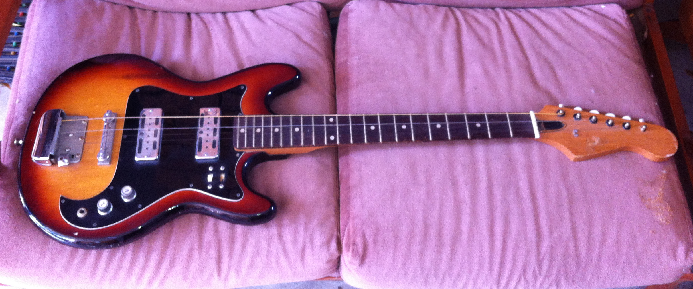 """N"""" is for NORMA!! 1968 Norma EG421-4 Guitar – Drowning in ... Norma Guitar Wiring Diagram on"""