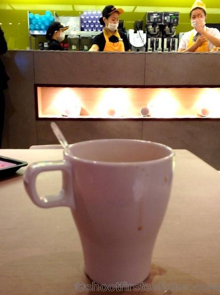 Cafe de Coral coffee