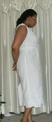 V8648 muslin right side view