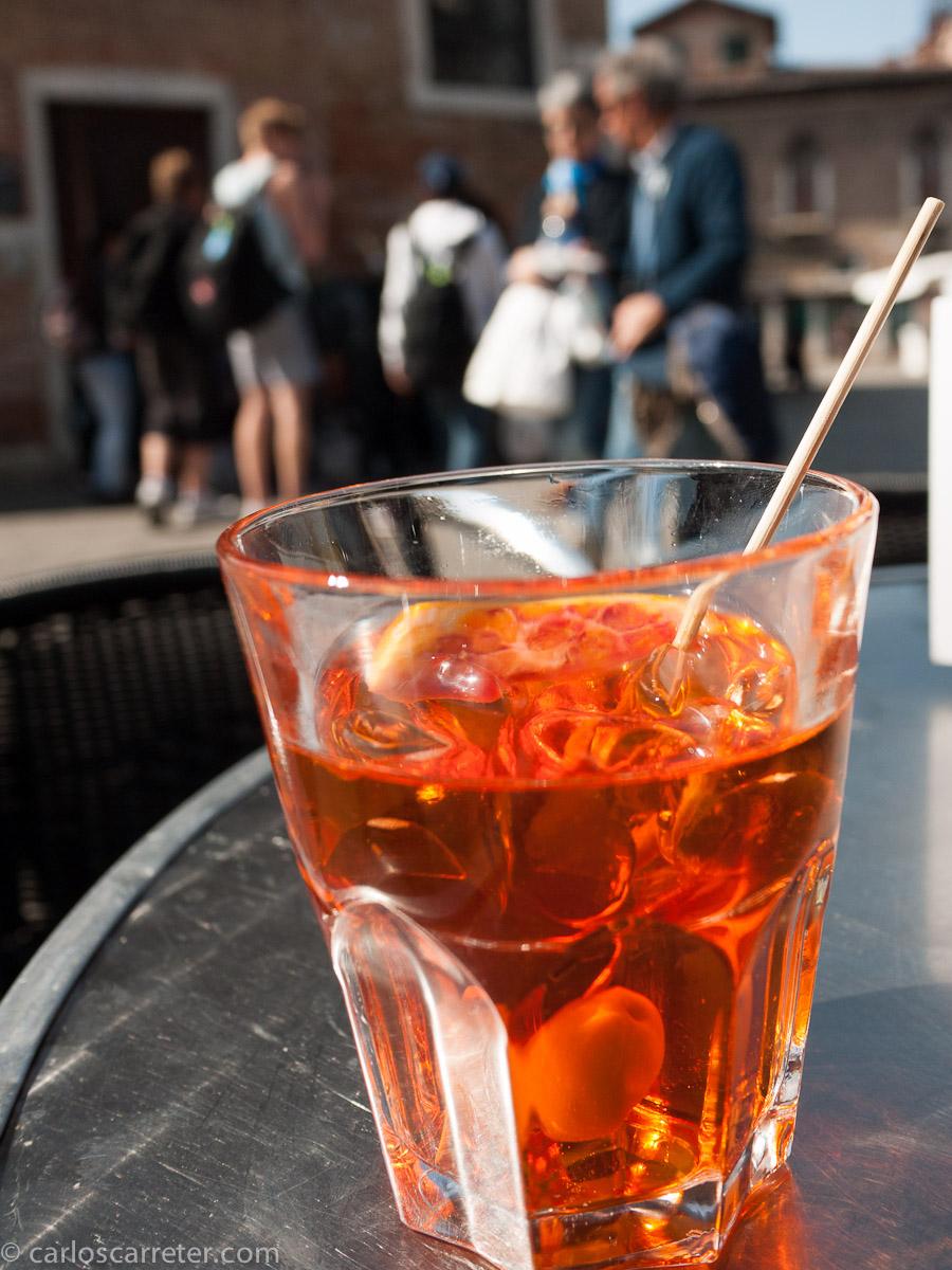 Spritz Aperol en Santa Margherita