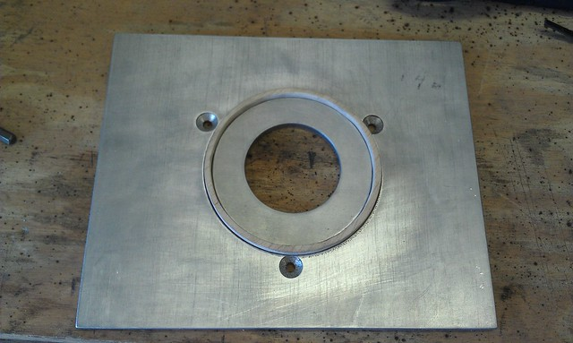 Router Plate - bushing