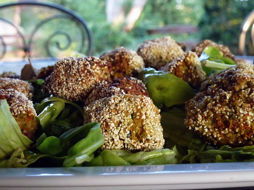 Zucchini & tofu veggie balls - Polpettine di zucchini e tofu