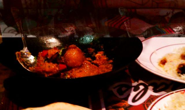Tinda Masala (baby pumpkin) at Tayyab's in Whitechapel, London