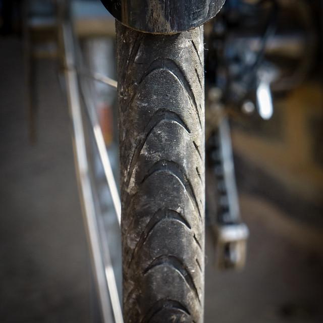 Schwalbe Marathon Supreme: Rear tyre wear after 1,500 miles