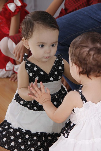 Lucia in polka dots