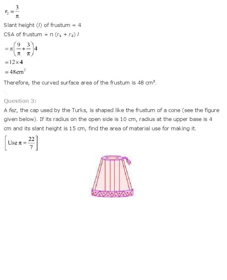 NCERT Solutions For Class 10th Maths Chapter 13 Surface Areas and Volumes Download 2018-19 New Edition PDF freehomedelivery.net