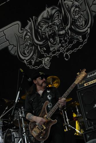 Lemmy Kilmister of Motörhead