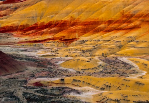Painted Hills Sunset Colors