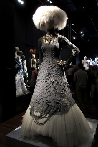 Women's ensemble, Russia collection, haute couture FW 1997-1998.