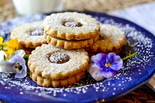 Chocolate Hazelnut Shortbread Cookies 2