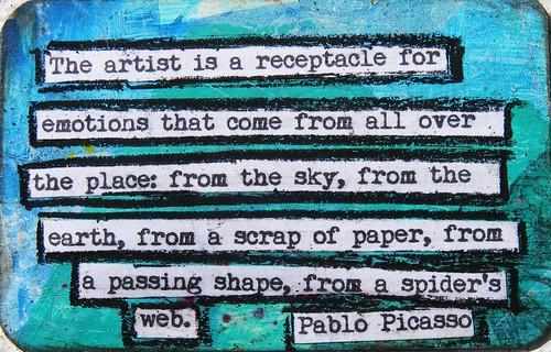 Pablo Picasso Creativity Quote