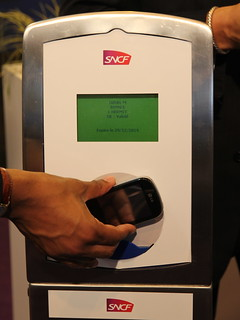 Validation transport SNCF par mobile NFC