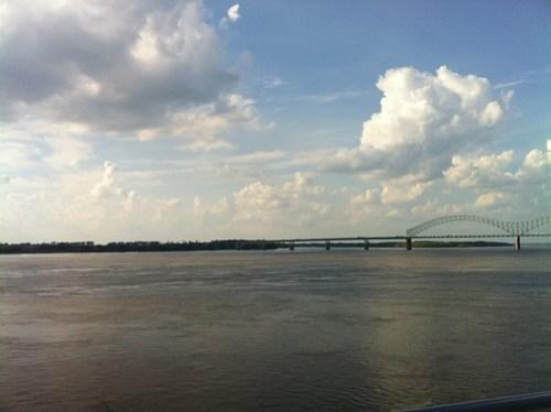 The view from Beale Street Landing, Memphis, Tenn.