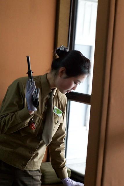 Pyongyang, North Korea Gun Range