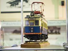 鉄道博物館内の模型