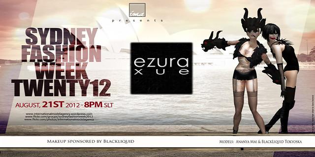 ezura Xue + Sydney Fashion Week