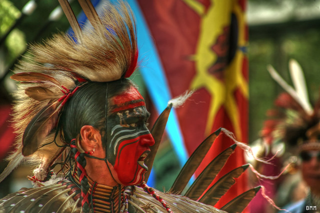 mens traditional pow-wow dancer