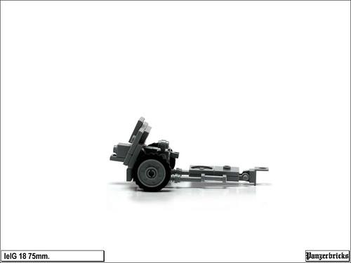 leIG 18 de 75mm de Panzerbricks