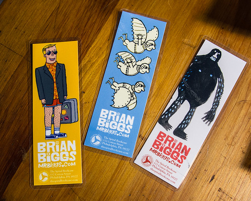 bookmarks at The Spiral Bookcase