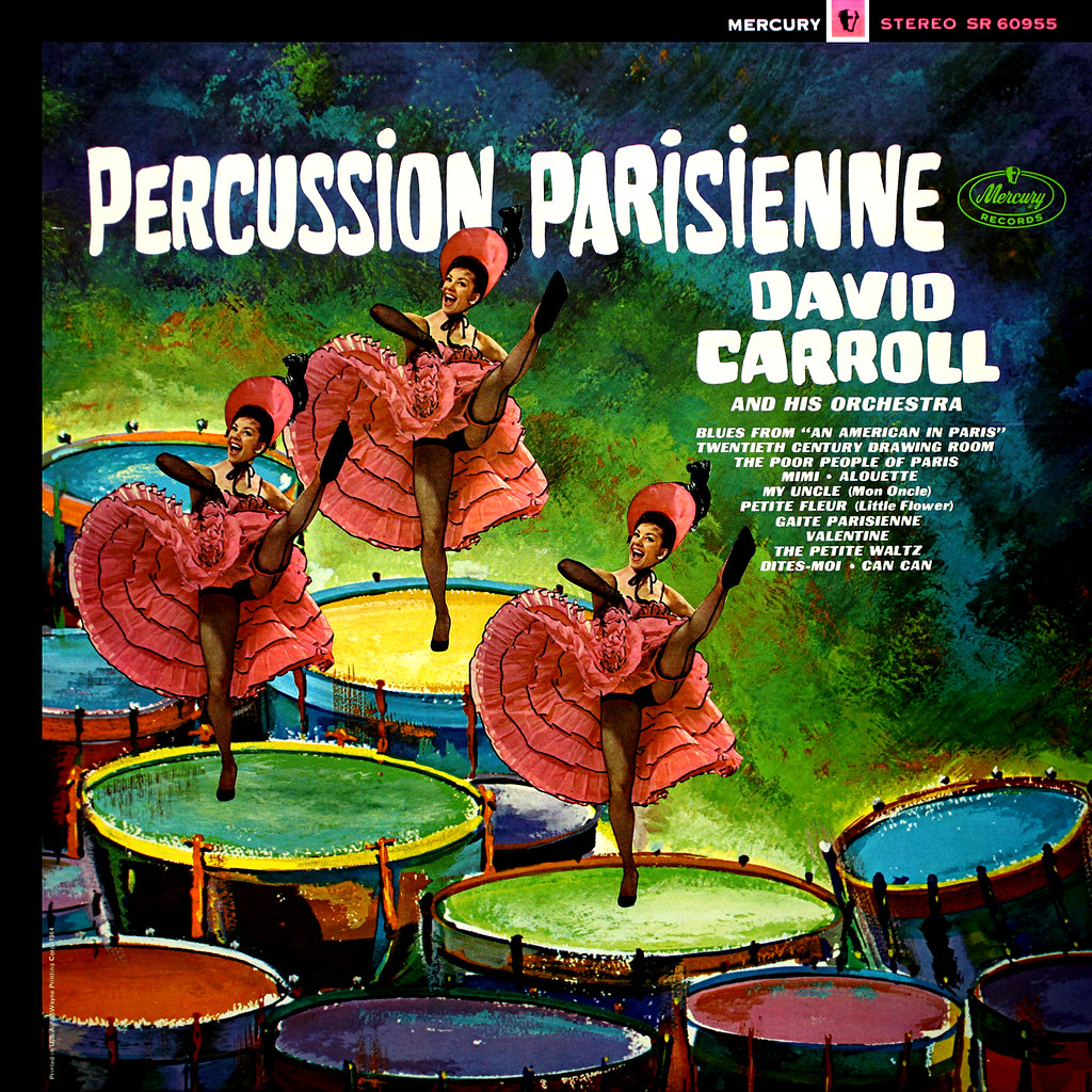 David Carroll - Percussion Parisienne