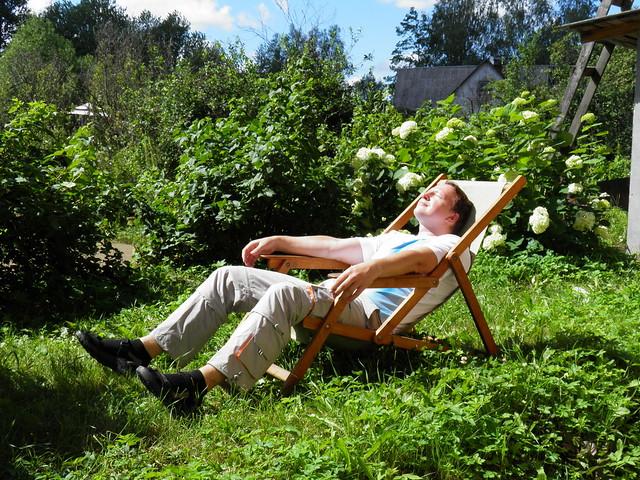 Ленивый отдых // Lazy weekend