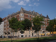 Sonder Boulevard. Sunny Summer Days in Copenhagen