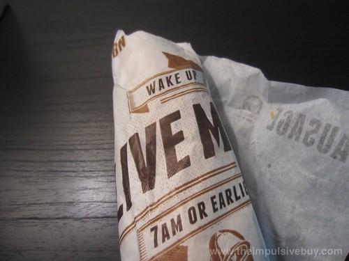 Taco Bell Sausage Breakfast Burrito