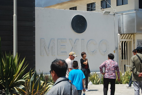 Mexico sign at entrance
