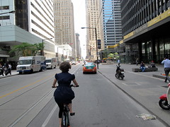 Biking in Toronto