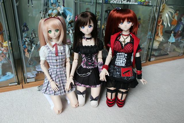 Akihabara Girls: Akira, Moe & Natsuki!