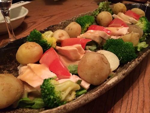 前菜の盛り合わせ@渋三魚金