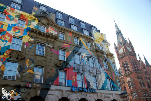 Agents of Change mural - London