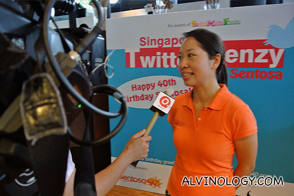 omy.sg interview with Ann from Sentosa