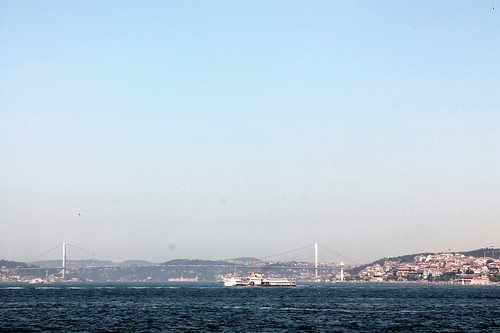 across the bosphorus