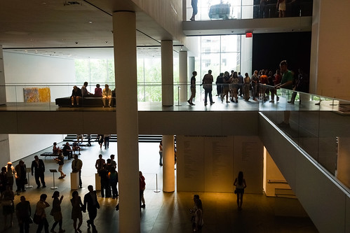 MoMA lobby by Dan Nguyen @ New York City