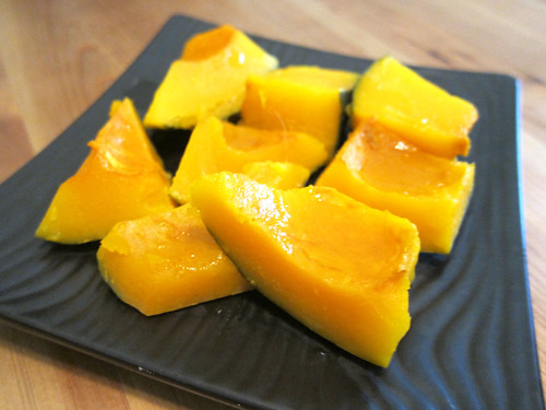 Japanese Sweet Simmered Pumpkin (Kabocha Nimono)
