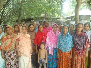 Bogra district in Bangladesh women's group