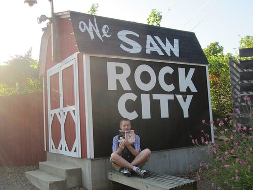 Mr. Schu and Babymouse Visited Rock City