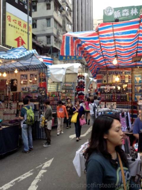 HK ladies market