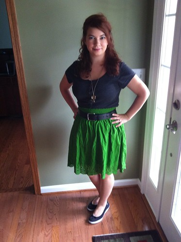 8/10/12 Outfit: The Hiccup Necklace that No One Can See