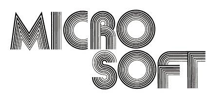 Logo perdana Microsoft (1975 - 1979)
