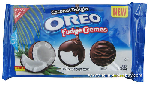 Nabisco Coconut Delight Oreo Fudge Cremes