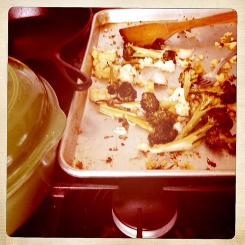 broccoli & cauliflower
