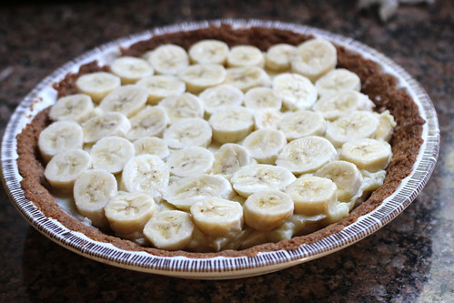 second layer of bananas