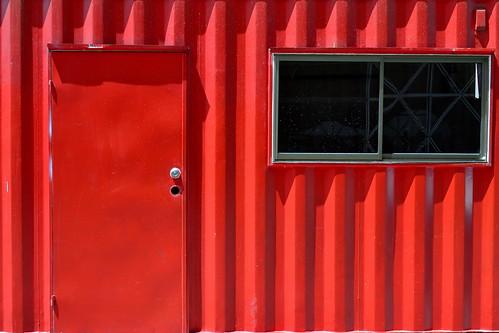 La pseudo-casa roja