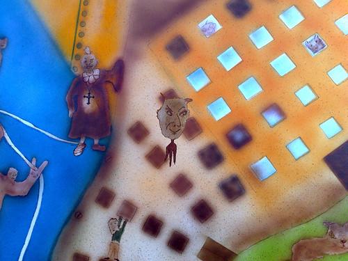 detalhe da casa amarela tórrida by Manuela Gandra