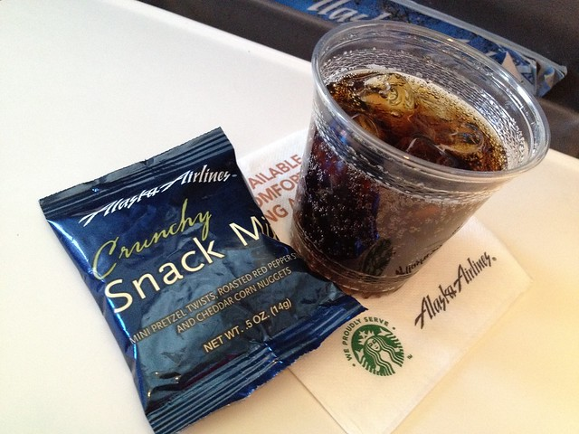 Snacks - Alaska Airlines