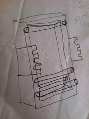 Loom drawing.