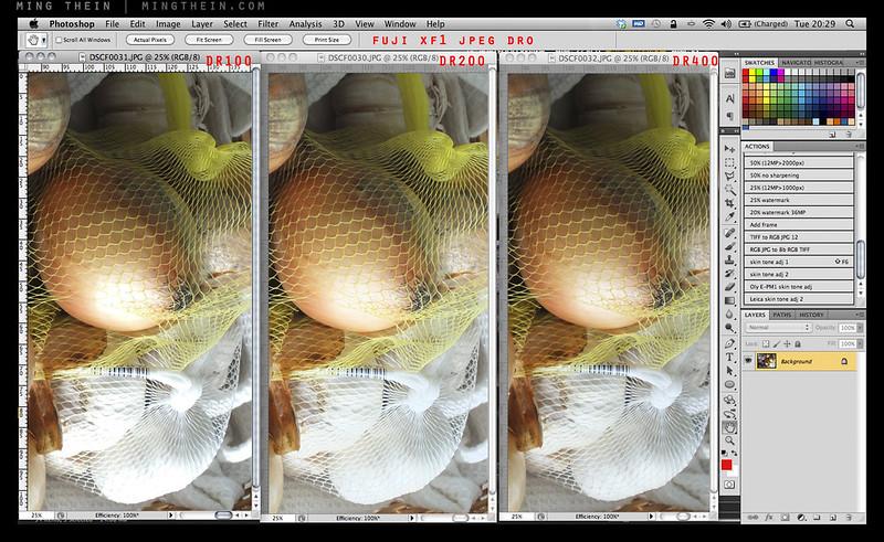 Fuji XF1 DRO JPEG